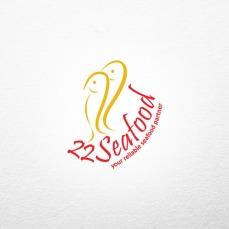 creative store 24 jasa desain logo perusahaan brand produk UKM profesional desain logo 22 seafood PT. Arta Mina Tama