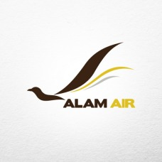 creative store 24 jasa desain logo perusahaan brand produk UKM profesional Desain Logo Alam Air