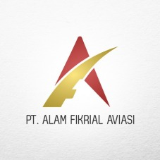 creative store 24 jasa desain logo perusahaan brand produk UKM profesional Desain Logo Alam Fikrial Aviasi