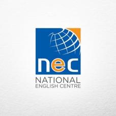 creative store 24 jasa desain logo perusahaan brand produk UKM profesional desain logo National English Centre (NEC)