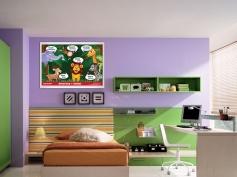 mock up desain Poster Belajar 10