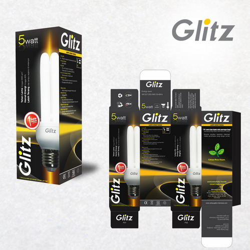 Simple Studio Online Desain Kemasan Lampu Hemat Energi Glitz PT. Cahaya Glitz Indonesia