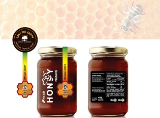 Simple Studio Online desain label kemasan Fresh Honey PT. Aksara Kencana Putra