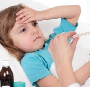tips parenting anak kecil sakit