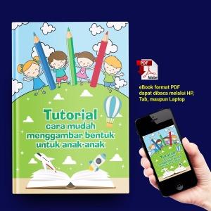 iklan eBook Tutorial cara mudah Menggambar Bentuk untuk anak-anak
