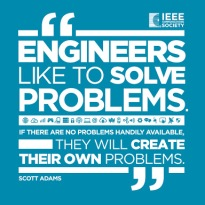 meme lucu engineer and problem