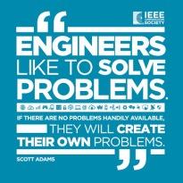 meme lucu engineer and problem