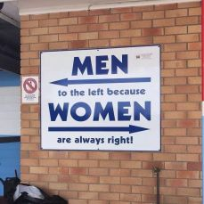 meme lucu men on the left because women are always right