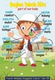 Poster Belajar Anggota Tubuh Tipe 06
