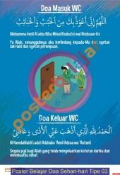 Poster Belajar Doa Sehari-hari Tipe 03