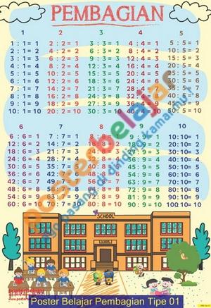 Poster Belajar Pembagian Tipe 01
