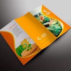 Desain Online download gratis inspirasi contoh design brosur company profile profil Brosur PDB 02