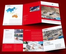 untuk download gratis inspirasi contoh desain design brosur company profile profil 10