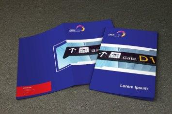 untuk download gratis inspirasi contoh desain design brosur company profile profil 19