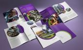 untuk download gratis inspirasi contoh desain design brosur company profile profil 27