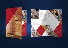 untuk download gratis inspirasi contoh desain design brosur company profile profil 4