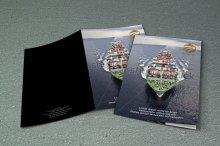 untuk download gratis inspirasi contoh desain design brosur company profile profil 5